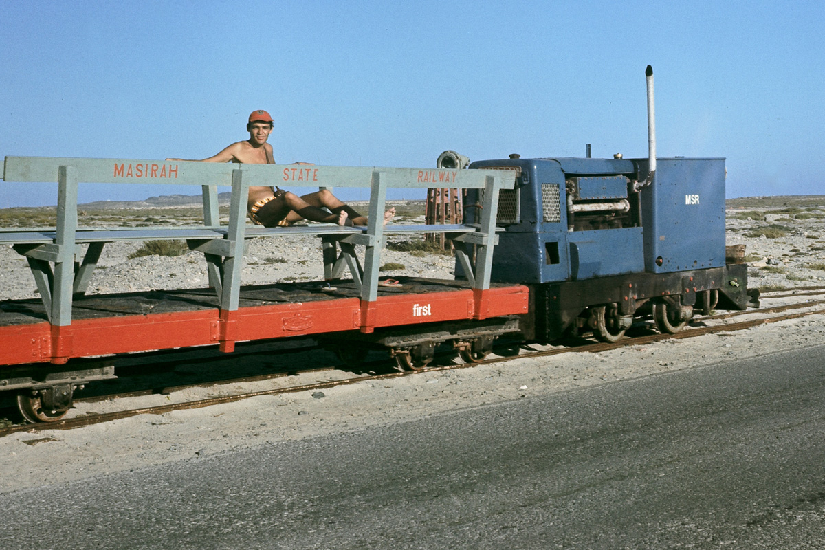 RAF Masirah - The state Railway